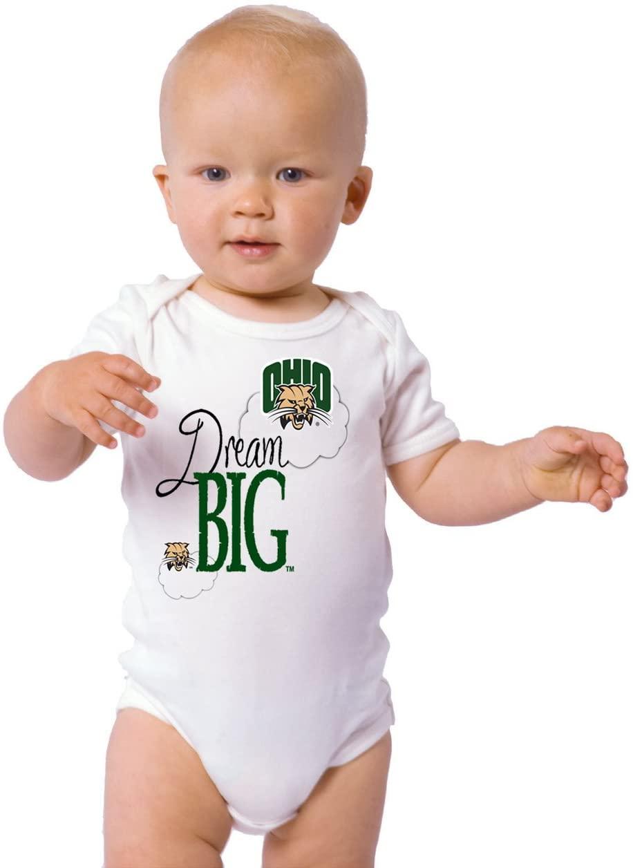 Future Tailgater Ohio Bobcats Dream Big Baby Onesie
