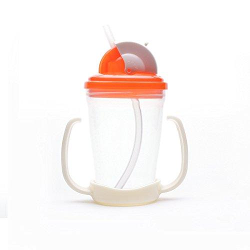 Straw Cup (280ml-Orange)
