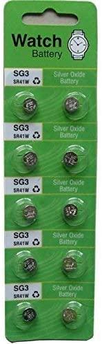 FBA Generic 10 X Sg3 Lr41 392 Sr41 Sr736 Silver Oxide Battery