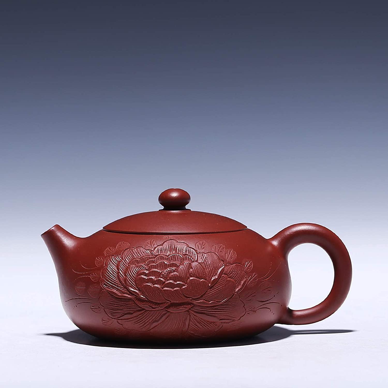 Bin Zhang Hand-ore teapot Zhu Ni Da Hong Pao tea teapot beauty (Color : Purple mud)