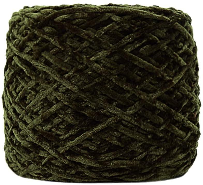 Tpingfe Velvet Yarn Blanket Soft Wool Thread for Sweater Scarf DIY Knitting Craft