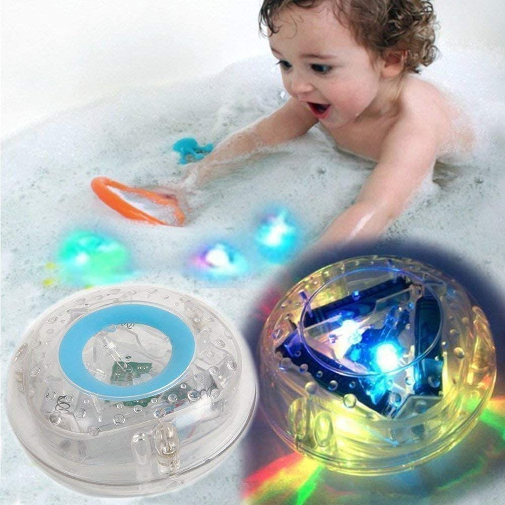 XuBa Party in The Tub Kids 7 Colors Flashing Bath Light for Kids Bathtub Playing