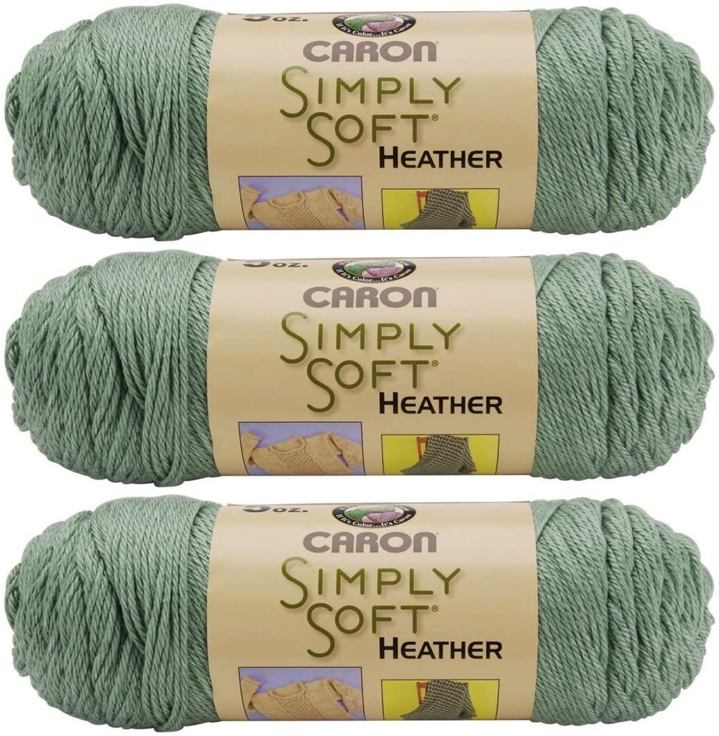 Caron Simply Soft Heather Yarn (3-Pack) Woodland H9700H-9503