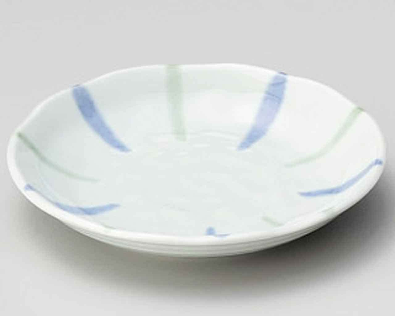 Seiji Tokusa 4.7inch Small Plate Blue porcelain Made in Japan