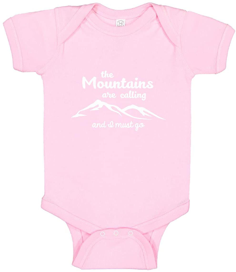Baby Romper The Mountains are Calling 100% Cotton Infant Bodysuit
