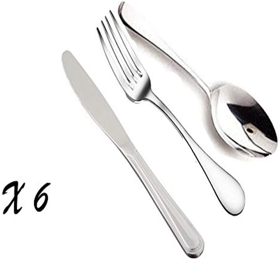 King International Stainless Steel 24 Fork 24 Spoon 24 Knife