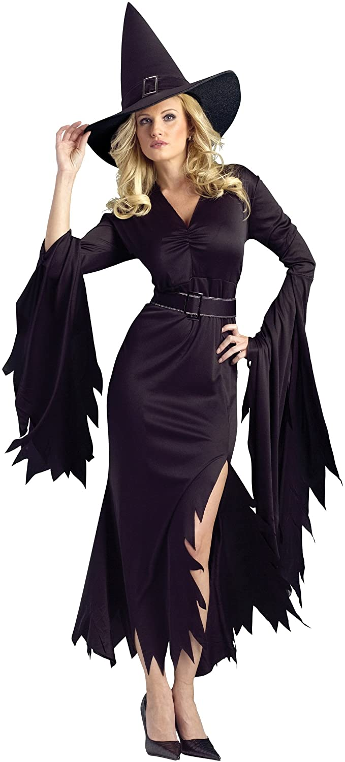 PINSE Woman Gothic Spellbinding Witch Halloween Costume (XL)