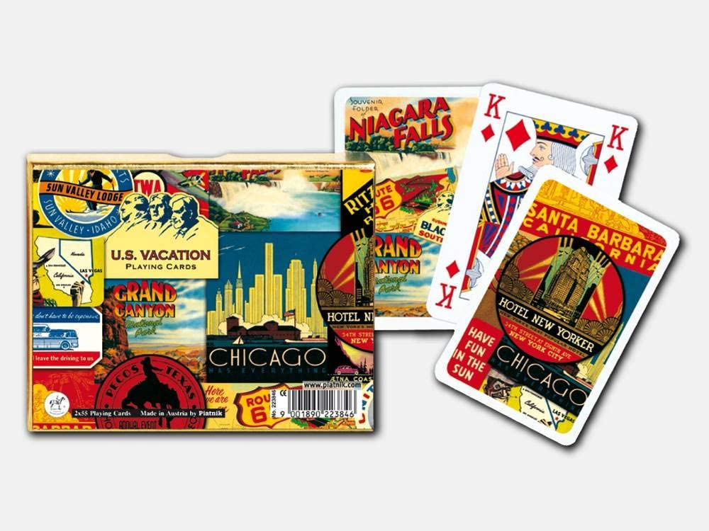 Piatnik US Vacation Playing Cards