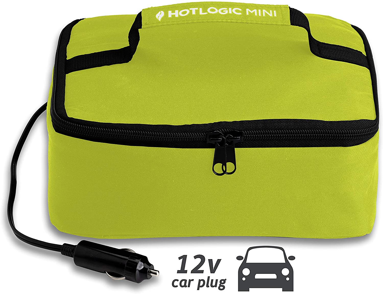 Hot Logic Food Warming Tote 12V, Lunch, Green
