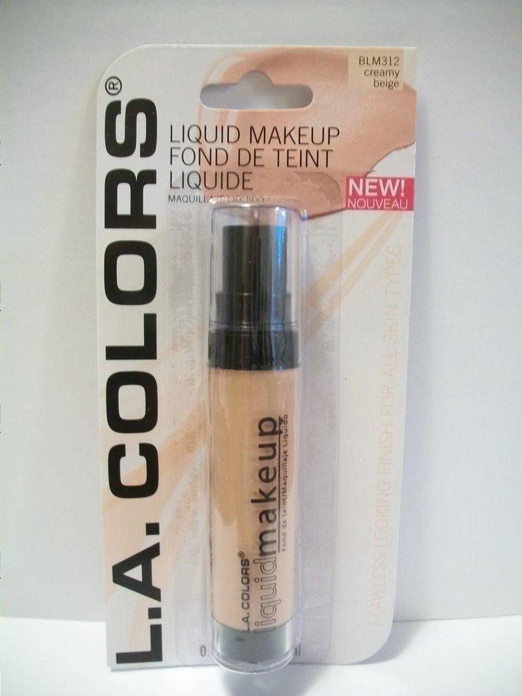 L.A. Colors Professional Series Liquid Makeup, Creamy Beige, 0.42 Fl. Oz