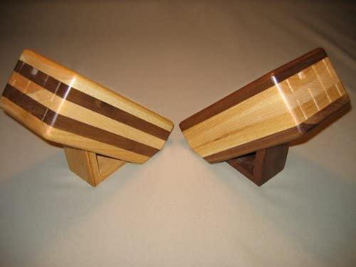 Wisconsinmade Handcrafted Wooden Knife Block, Oak