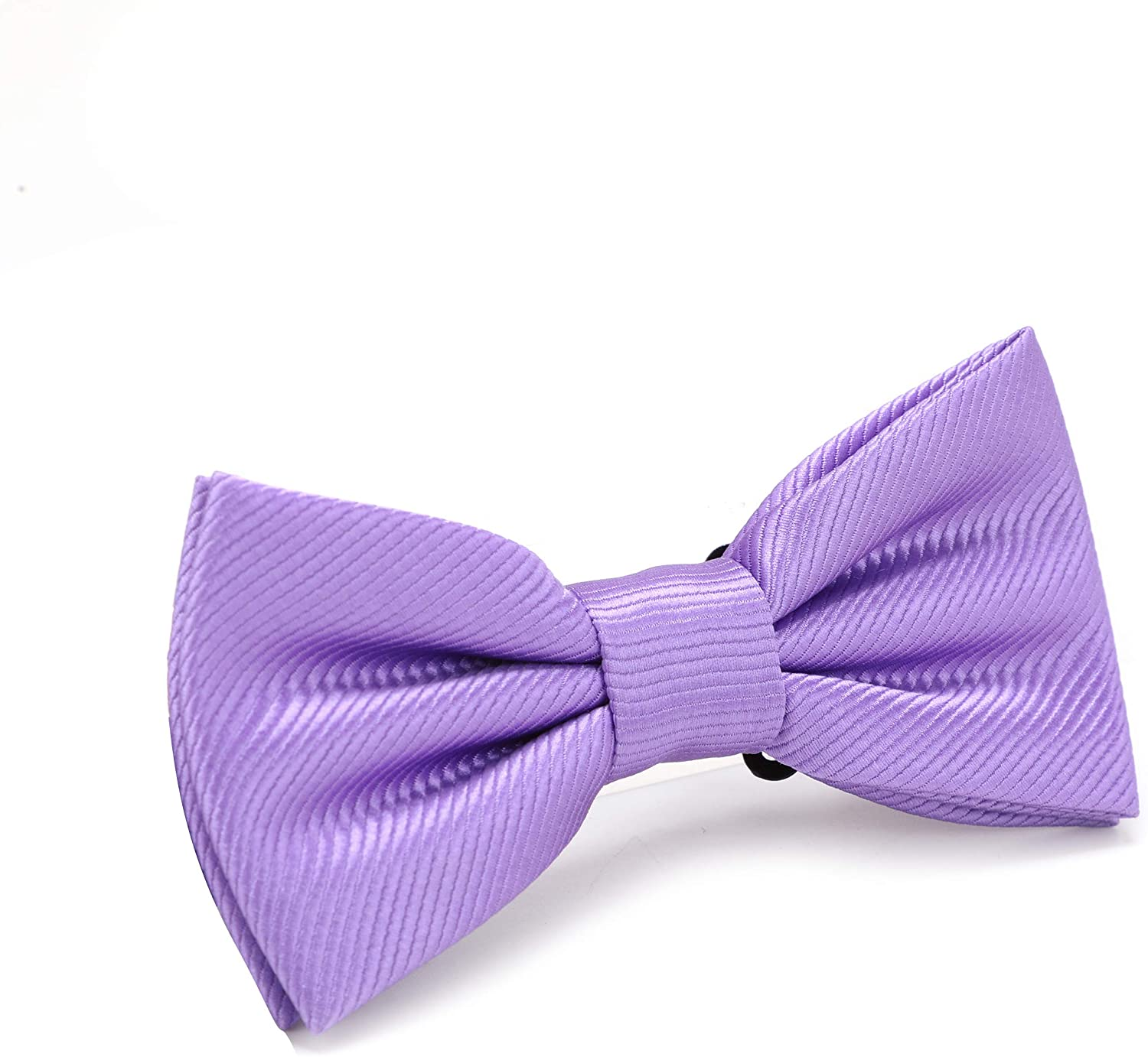 Mens Solid Pre-tied bow ties,Adjustable Tuxedo Bowtie For Boy With Multiple Colors,By Fortunatever(11''-18'')