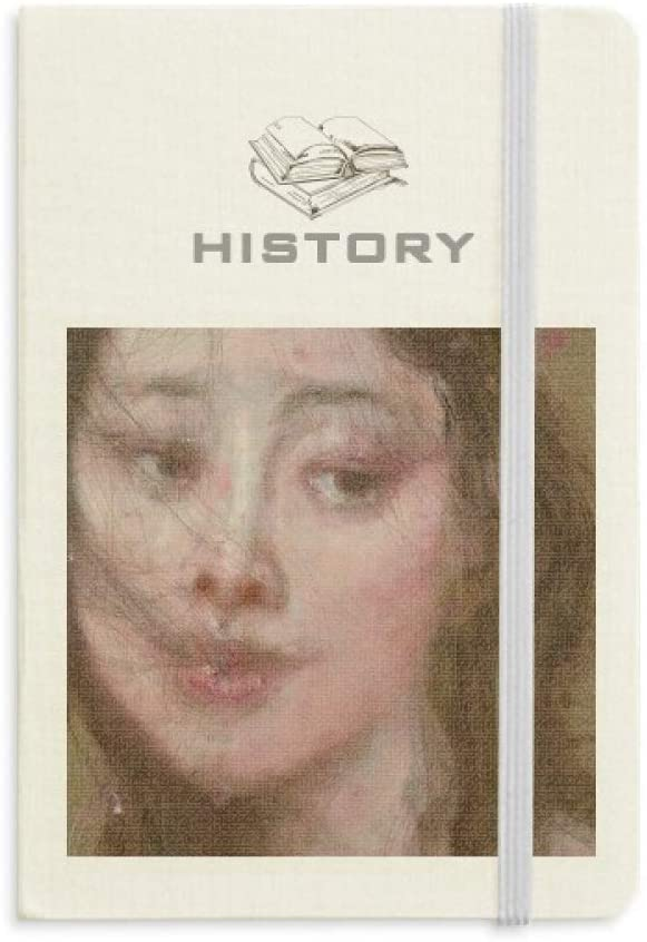 Windy Night XJJ Oil Painting History Notebook Classic Journal Diary A5