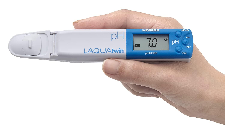 Horiba 3999960124 Model pH-33 Compact pH Meter, 1.5