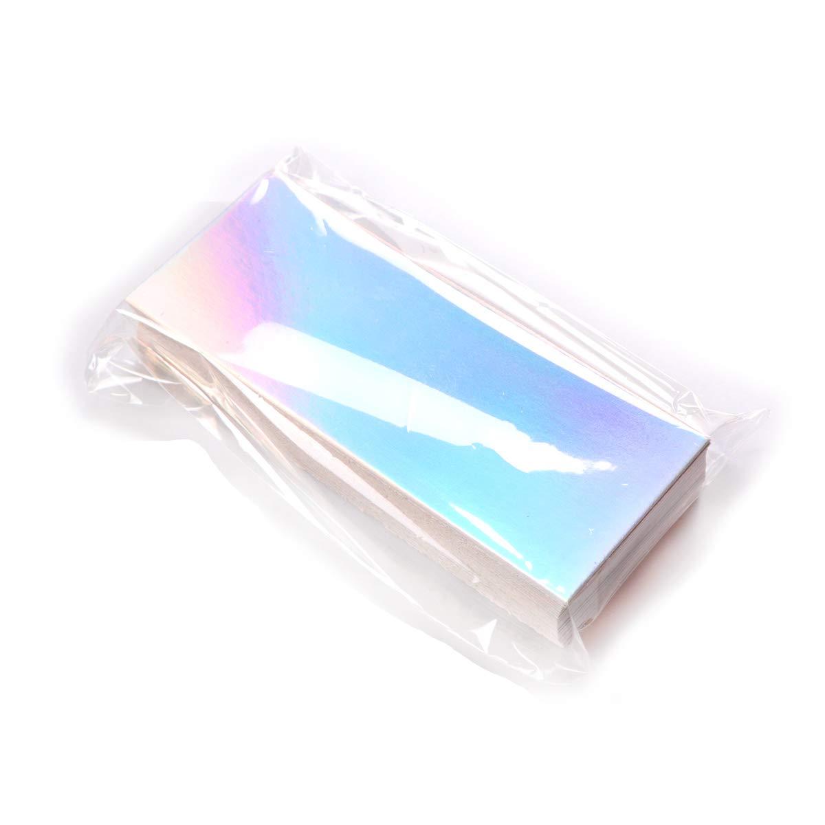 50pcs Holographic Cardboards (4.21x1.65) to be Put Inside Regular Sliding Lash Case