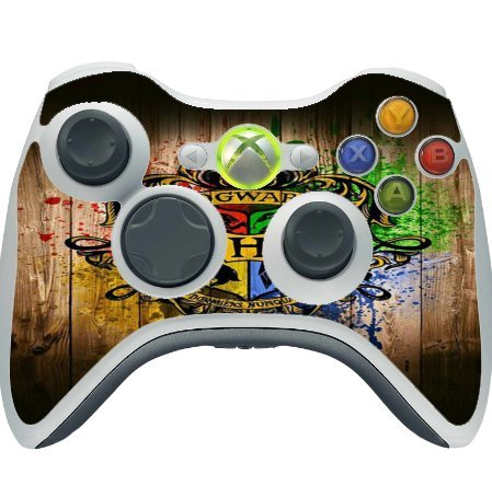Wizard House Vinyl Decal Sticker Skin by EandM for Xbox 360 Wireless Controller