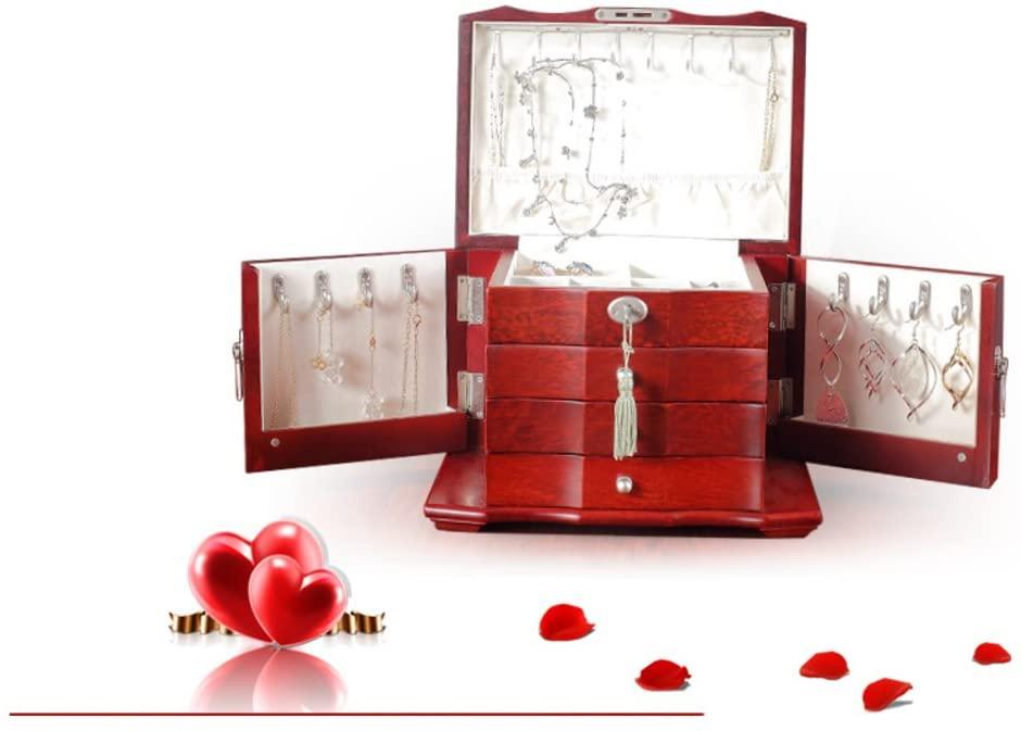 MYITIAN Wedding Gifts Creative give Girlfriends Birthday Wedding Gift Birthday Gift The Girl Creative Wedding Jewelry Box-C