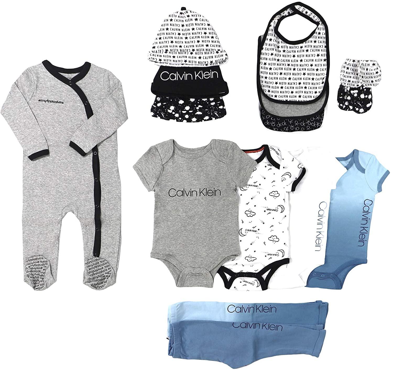 Calvin Klein Newborn Infant Boys Layette, 9 Or 15 Piece Set