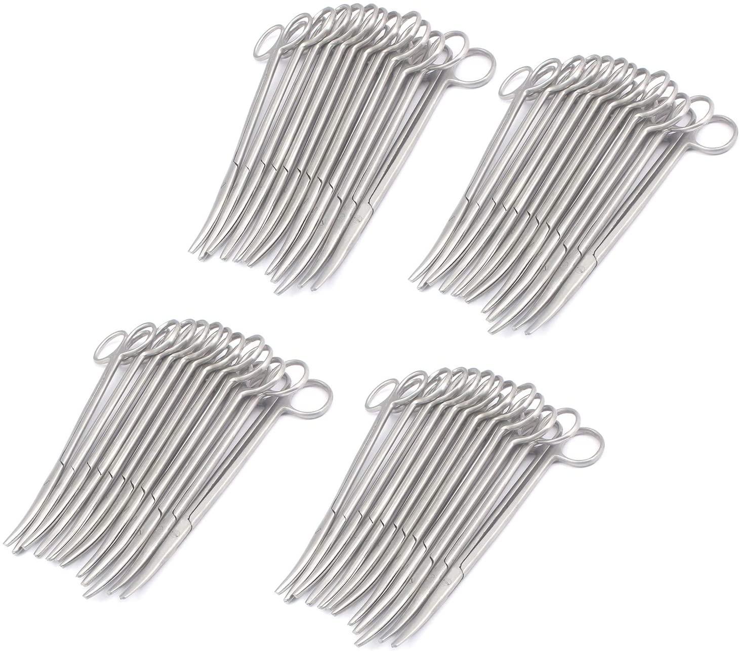 "DDP Set of 50 METZENBAUM Scissors 7"" Curved Stainless Steel"