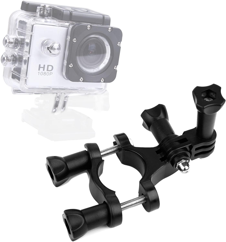 DURAGADGET Bike Handlebar Mount for Extreme Sports Action Camera SJCam SJ4000 & New SJ5000 | SJ5000x Elite | SJ5000 Plus
