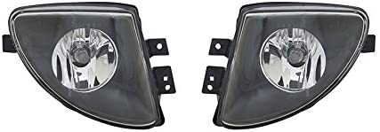 Rareelectrical NEW FOG LIGHT PAIR COMPATIBLE WITH BMW 528I 11-13 530I 2012-2013 BM2592143 63177216888 63177216887 63 17 7 216 888 63-17-7-216-887 BM2593143