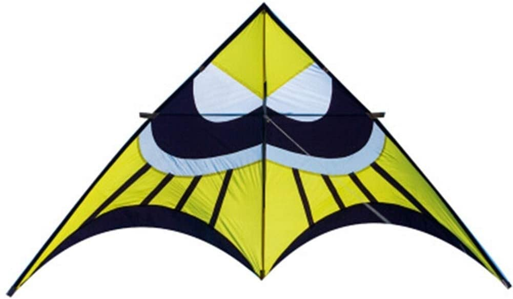 Nickey Breeze Kite, Kids Kite Kites for Kids Easy to Fly with Outdoor Sports 2.8m Bat Kite High-End Reel (Color : Kite with 30m Tail)