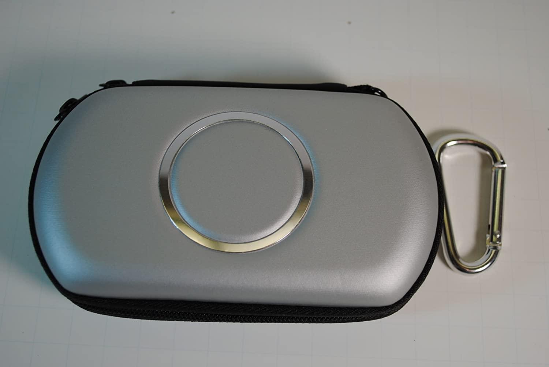 Grey Sony PSP GO Airform EVA Storage Case with Carabiner Key Chain