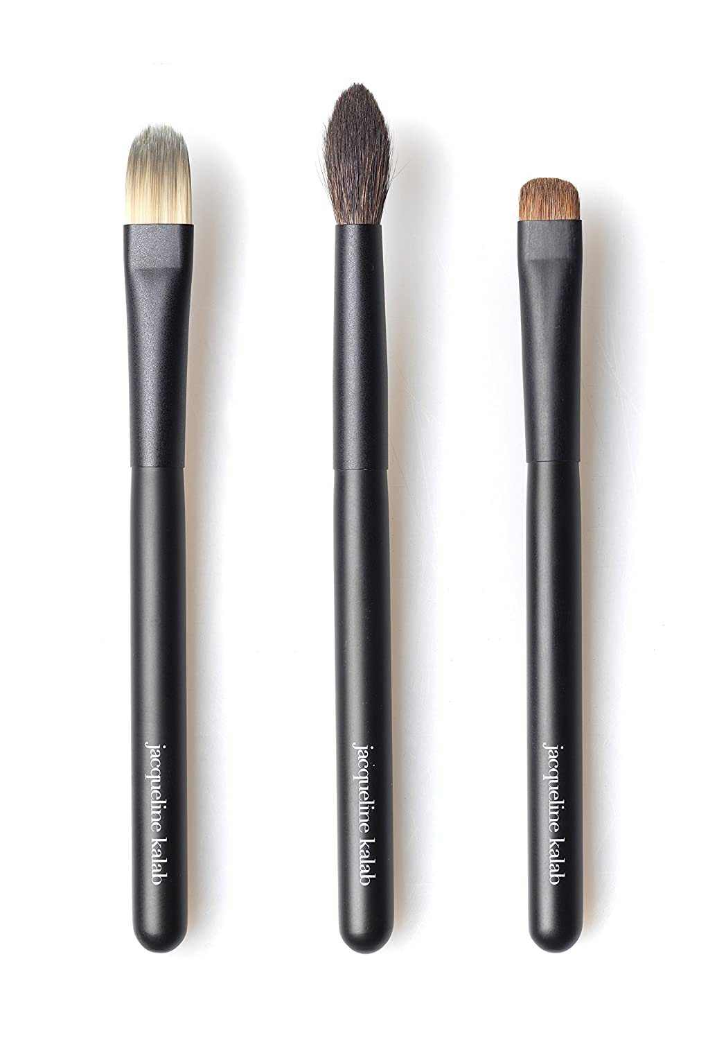 The Perfect Eye Brush Set, by Jacqueline Kalab - Self-Makeup Handle Length - 4.9in