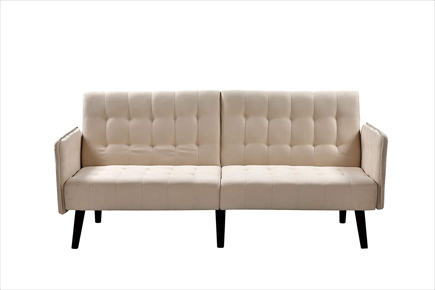 Container Furniture Direct Hashimoto Modern Upholstered Living Room Convertible Sofa Bed, 78