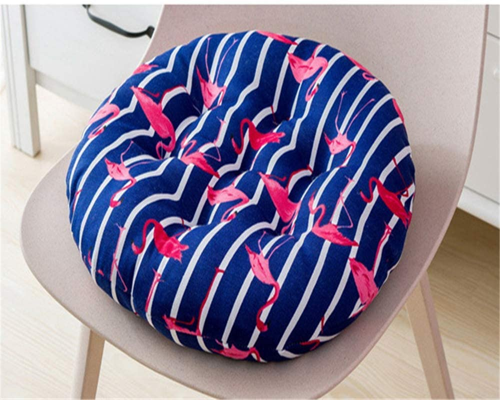 HEWEI 2-Pack Garden Chair Cushions seat Cushions Back Cushions Couch Cushions Low Back Cushions and Ties Chair Cushions for Office Chair and at Home (Flamingoblue 40 40)