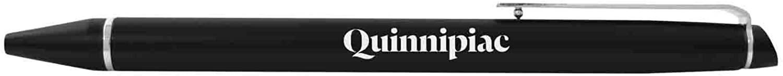 Quinnipiac University -Chrome Accented Twist Action Ballpoint Pen