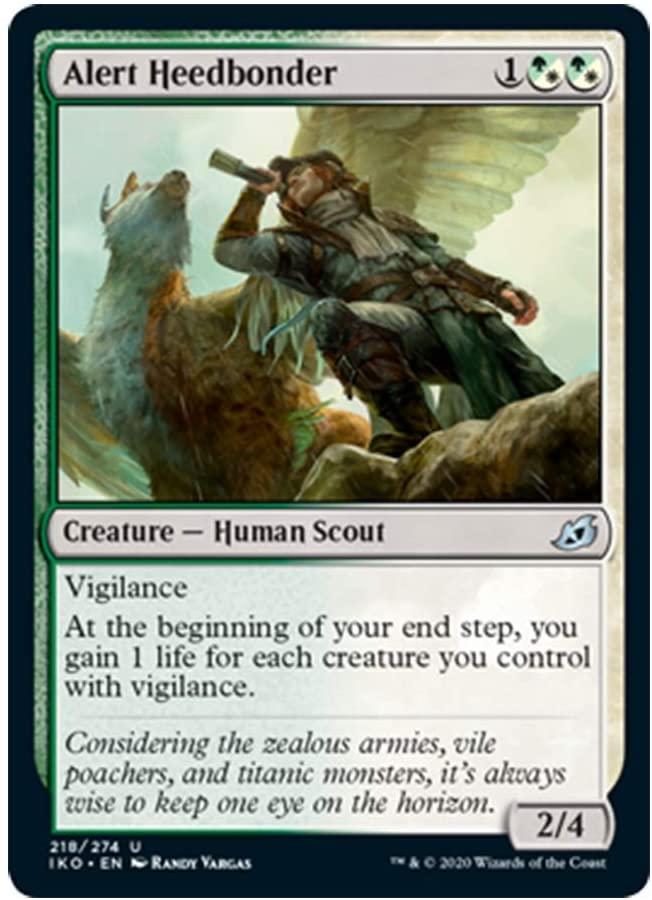 x4 Alert Heedbonder 218/274 Uncommon Ikoria Lair of Behemoths