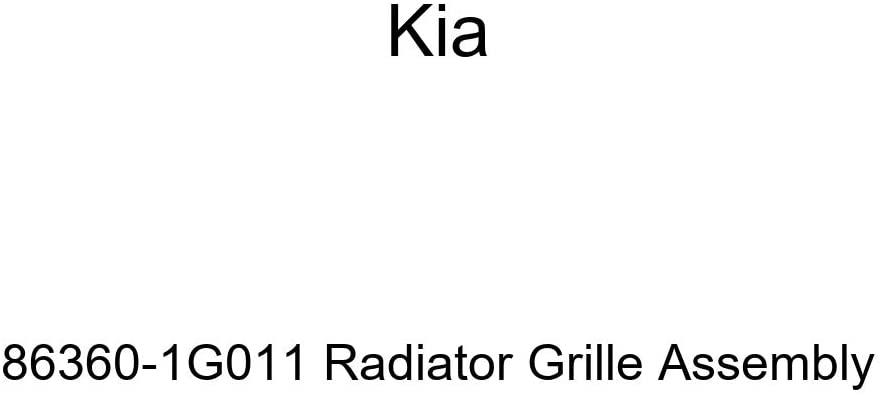 Genuine Kia 86360-1G011 Radiator Grille Assembly