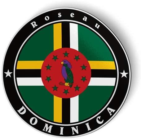 Dominica Flag - Flexible Magnet - Car Fridge Locker - 5