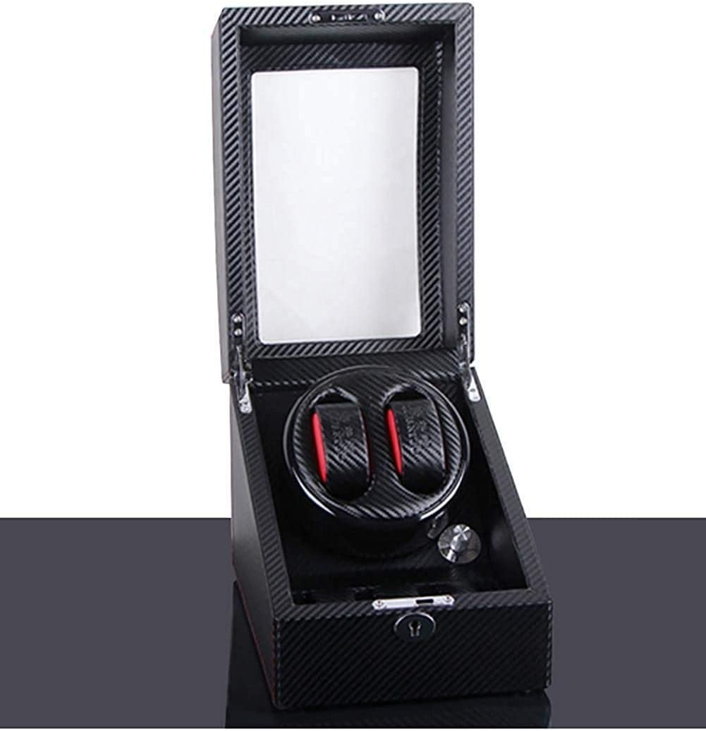 HYY-YY Watch Winder Battery Operated Automatic Watch Winder Watch Rotator Watch Display Box Case