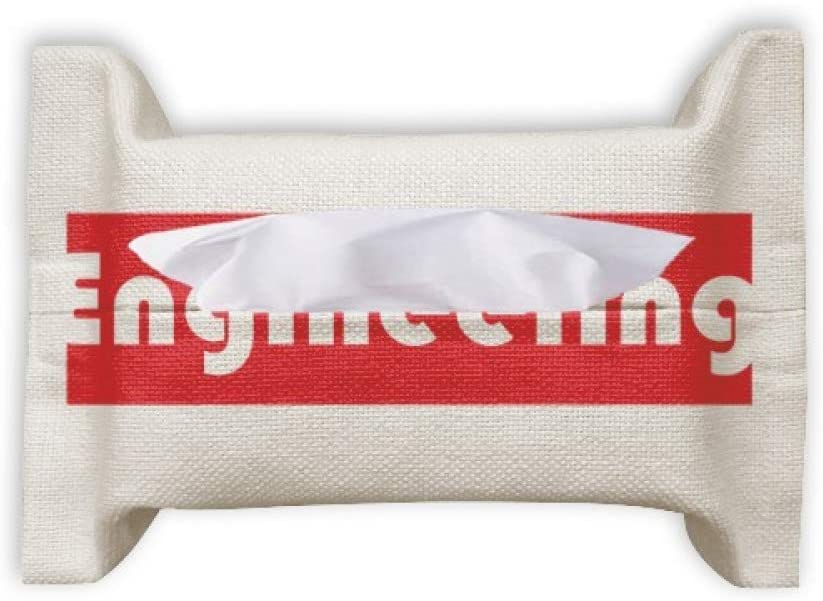 Course and Major Engineering Red Paper Towel Facial Tissue Bag Napkin Bumf