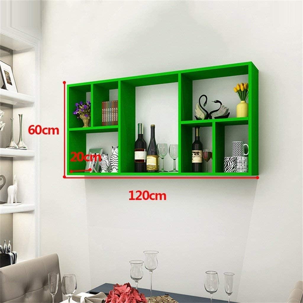 YISHUAI Simple Fashion Wine Rack Creative Wine Cabinet Living Room Hanging Home Wall Frame Restaurant Simple Modern Ledge