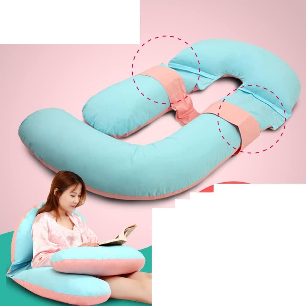 JGXVUYKDFV Pregnancy Pillow/Waist Side Sleeping Pillow/Pure Cotton u-Pillow/Multifunctional Belly Pillow/Pregnancy Pillow-A