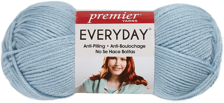 Premier Yarns Deborah Norville Collection Everyday Solid Yarn-Quiet Blue