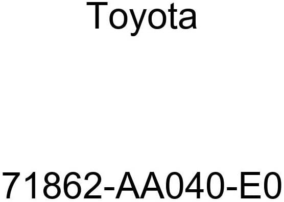 TOYOTA Genuine 71862-AA040-E0 Seat Cushion Shield