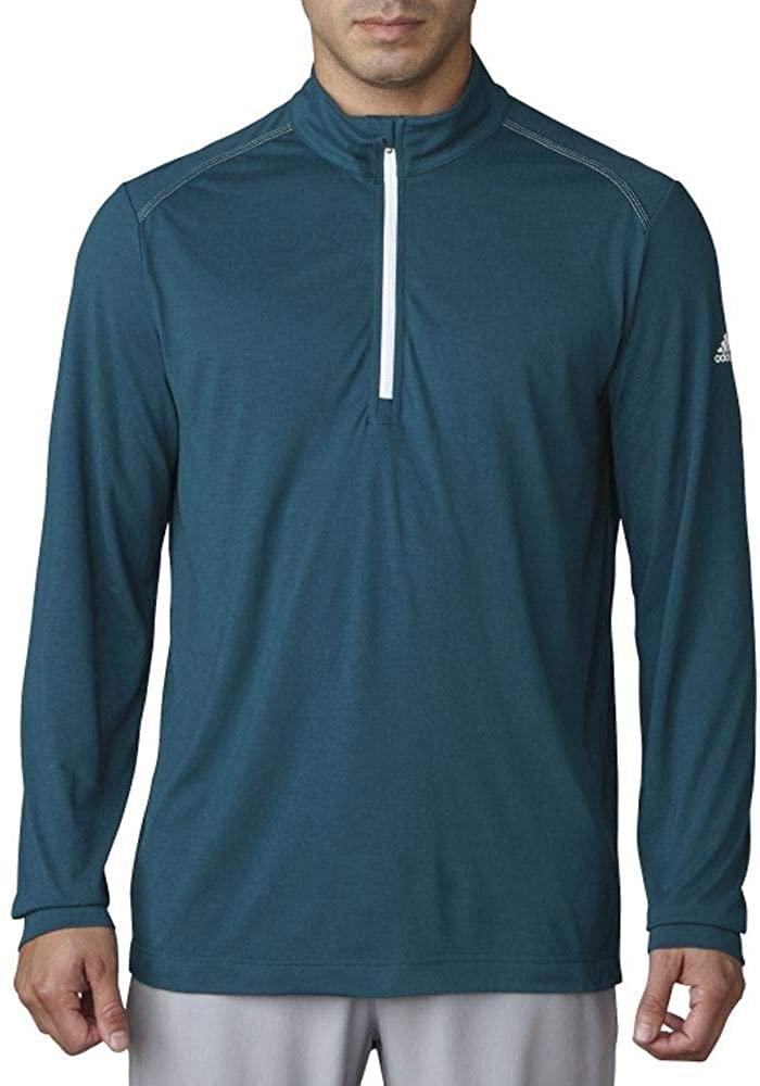 adidas Golf Men's Adi Ultra Lightweight UPF 1/4 Zip Jacket
