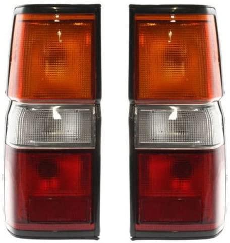 Koolzap For 87-95 Pathfinder Taillight Taillamp Brake Light Lamp Left & Right Side Set PAIR
