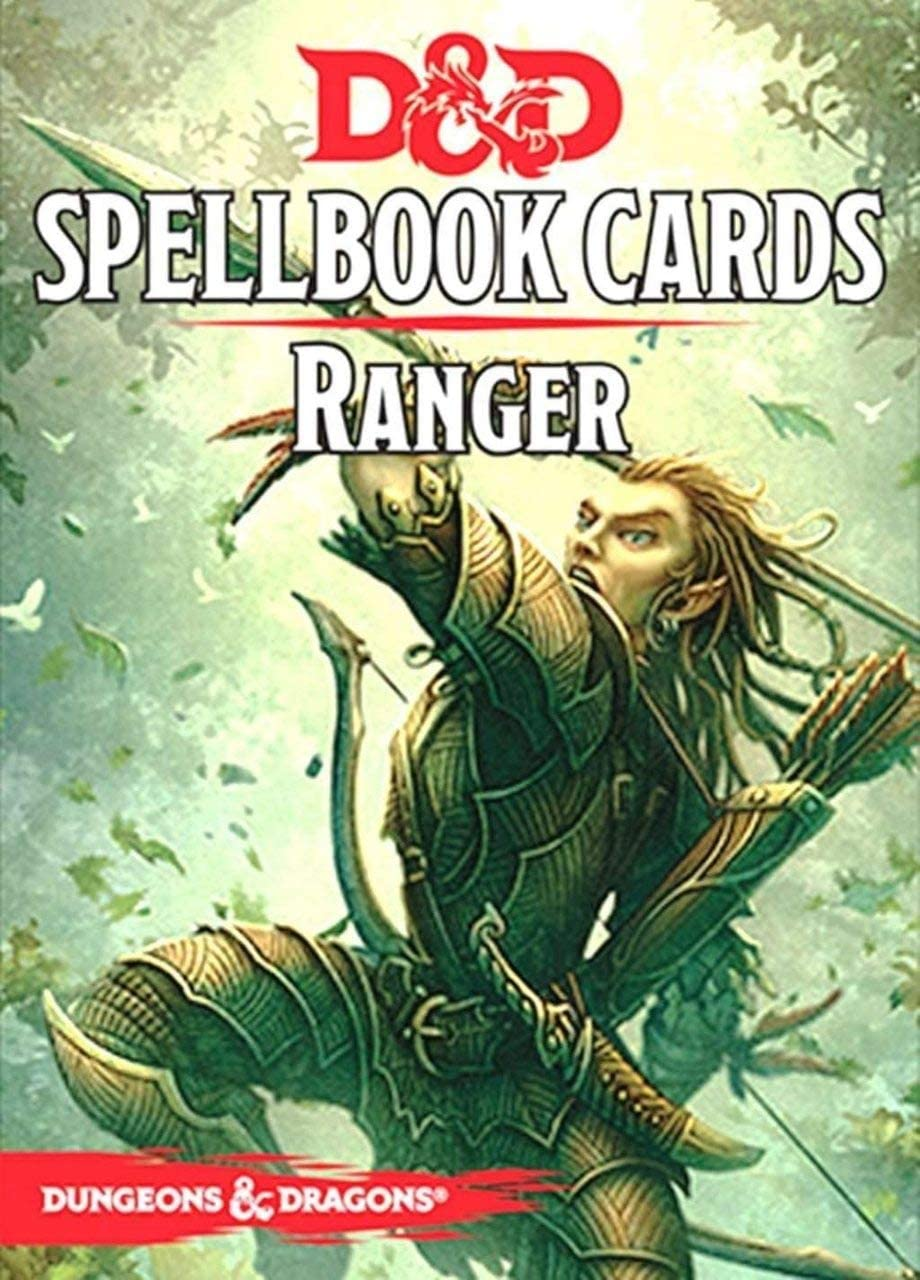 Gale Force Nine GF973906 Dungeons and Dragons Ranger Spell Deck Game (46 Cards)