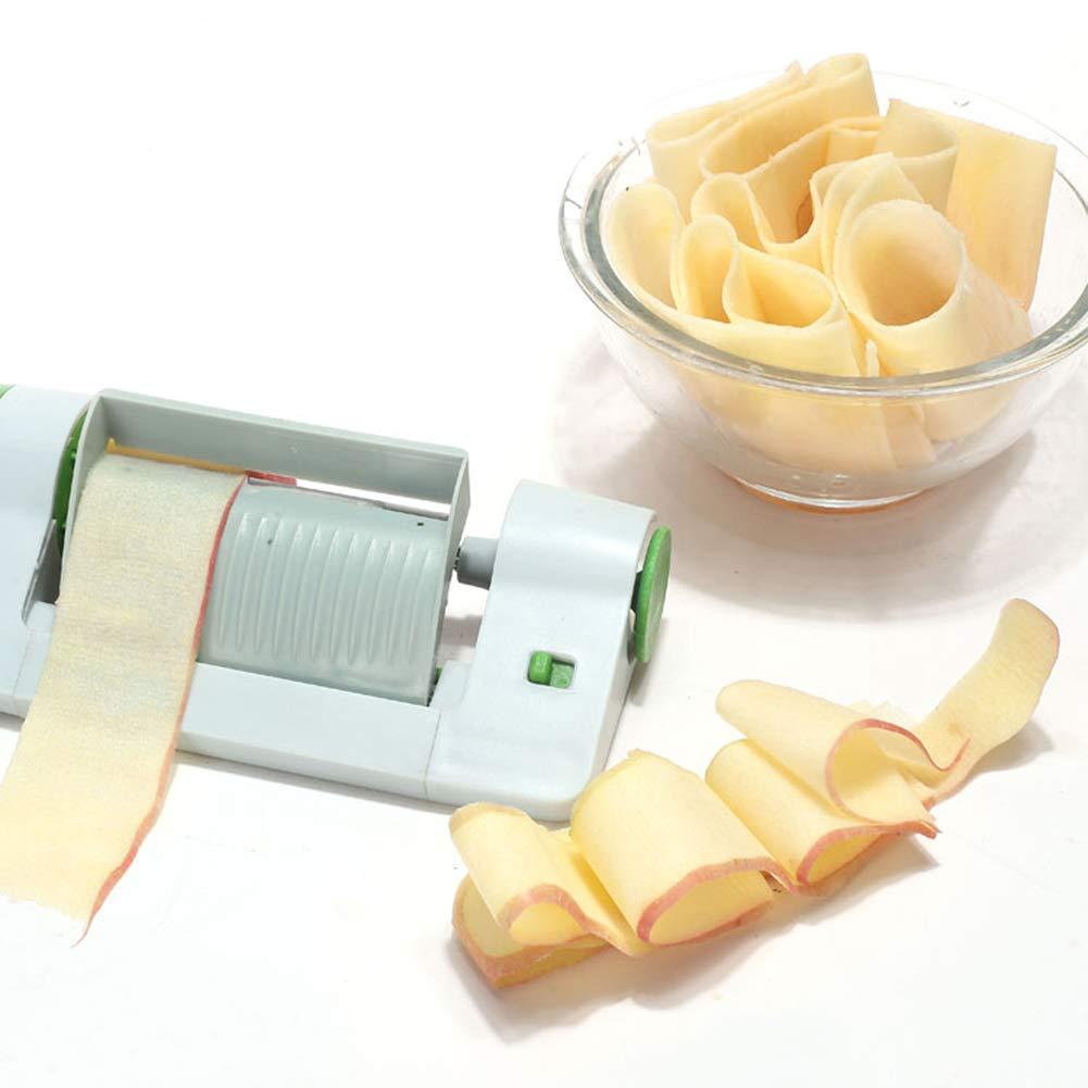 DesirePath Spiralizer Vegetable Slicer, Multi-Function Cutter Slicer,Stainless Steel Fruit Peeler Veggie Sheet Slicer for Kitchen Use