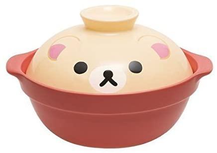 San- X Rilakkuma Korilakkuma Shabu Shabu Nabe Hot Pot Ceramic φ19cm Japan Import TK05301