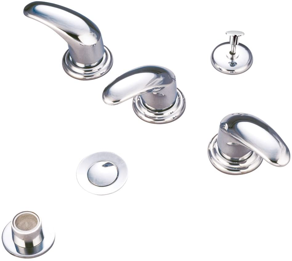 Kingston Brass KB6321LL Legacy Bidet Faucet with Metal Lever Handles