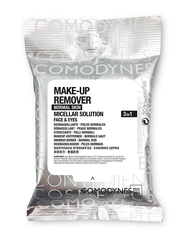 COMODYNES Make-Up Removers for Face & Eyes - Normal Skin- 3 Pack!!