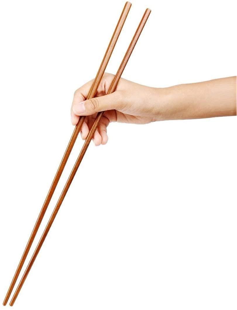 Bamboos Grocery Cooking Wooden Chopsticks, Hot Pot Chopsticks,16.5 Inch, Extra long,16.5 Inch