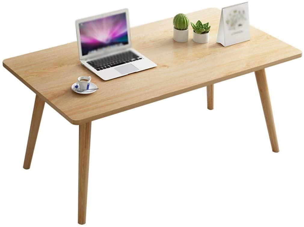GWW Perfect Furniture Office Bookshelf Living Room Tea Room Decorative Table Sofa Wooden Rectangular Table Multifunctional Tea Table (Color : A2)