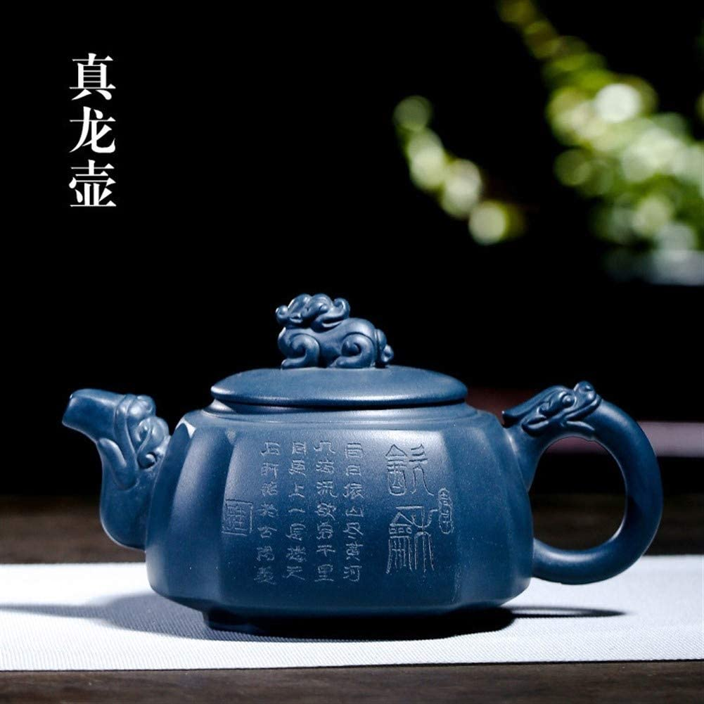 Bin Zhang The Dragon teapot teapot kung fu tea gift packages (Color : Purple mud)